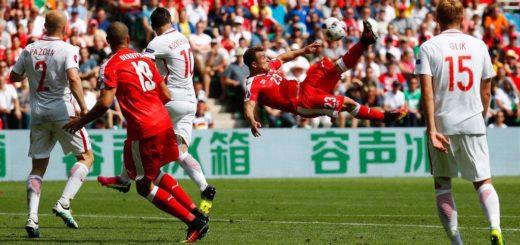 Euro 2016: Il goal di Shaquiri