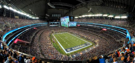 Eagles at Cowboys, AT&T Stadium