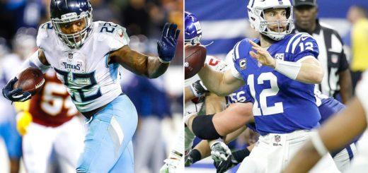 Titans vs Colts per la wild card